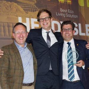 Herdysleep wins 'Best Eco Living Solution' award at the Express Home and Living Awards